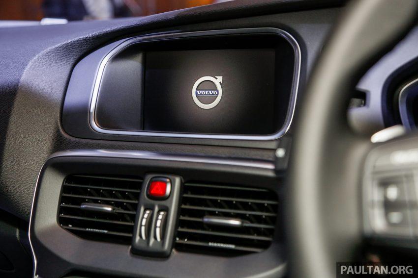 2017 Volvo V40 小改款本地面市, 价格不变, 售18万令吉。 Image #33328