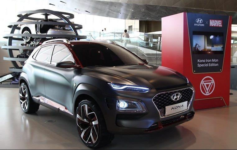 Hyundai与Marvel合作, 推出 Kona Iron Man 特别版车型。 Image #33247