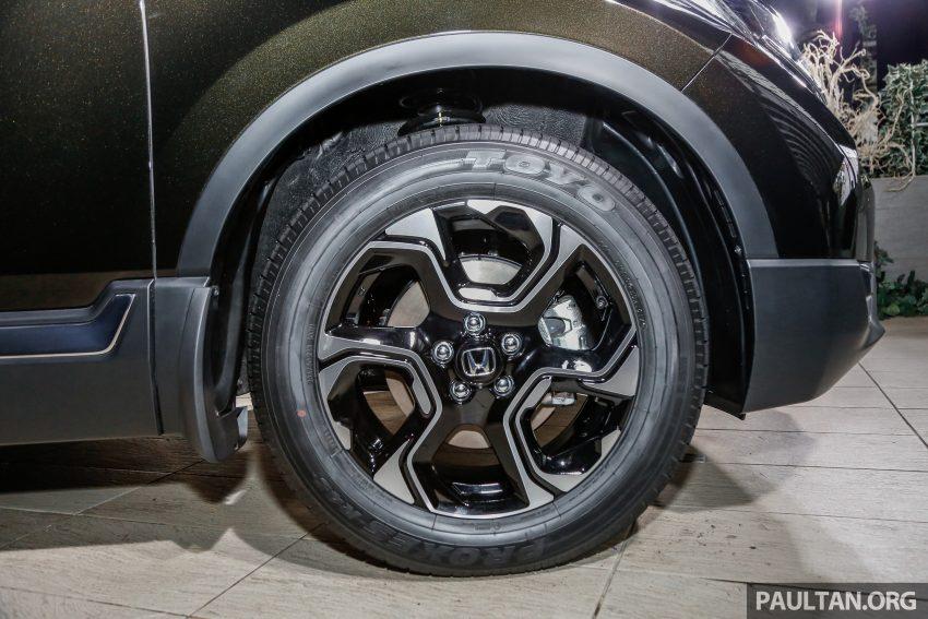 五代 Honda CR-V 本地正式发布,分成4个等级、自然进气与涡轮引擎,统一五人座,售价介于RM142K至RM168K。 Image #34829