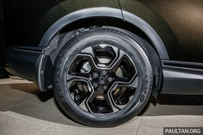 五代 Honda CR-V 本地正式发布,分成4个等级、自然进气与涡轮引擎,统一五人座,售价介于RM142K至RM168K。 Image #34830
