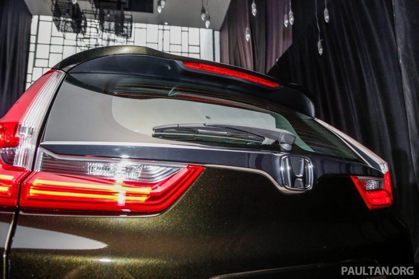 五代 Honda CR-V 本地正式发布,分成4个等级、自然进气与涡轮引擎,统一五人座,售价介于RM142K至RM168K。 Image #34833