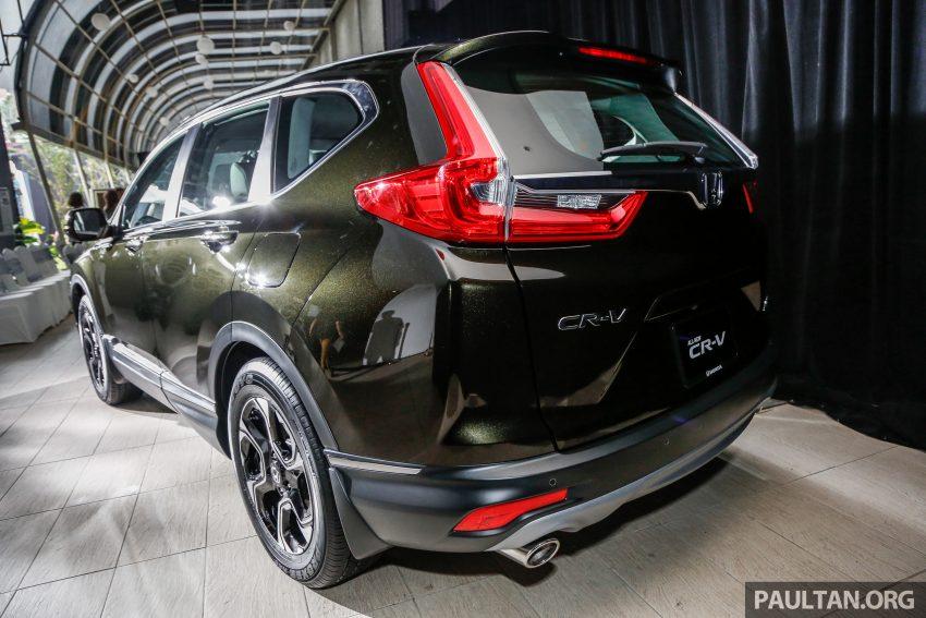 五代 Honda CR-V 本地正式发布,分成4个等级、自然进气与涡轮引擎,统一五人座,售价介于RM142K至RM168K。 Image #34821