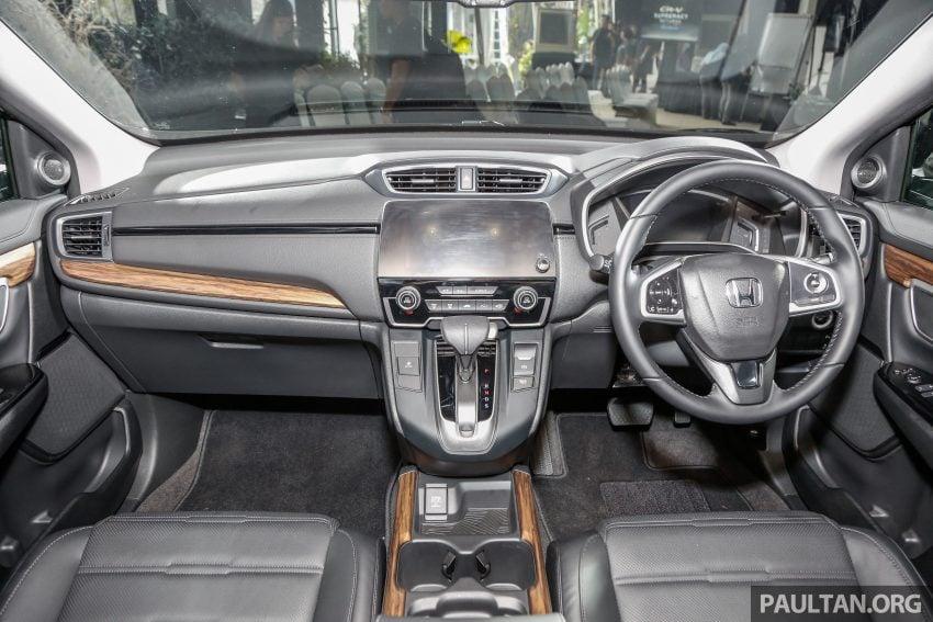 五代 Honda CR-V 本地正式发布,分成4个等级、自然进气与涡轮引擎,统一五人座,售价介于RM142K至RM168K。 Image #34839