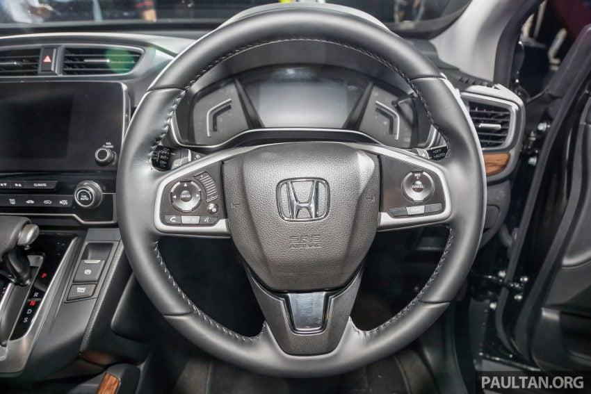 五代 Honda CR-V 本地正式发布,分成4个等级、自然进气与涡轮引擎,统一五人座,售价介于RM142K至RM168K。 Image #34840