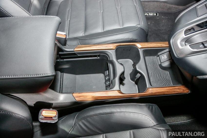 五代 Honda CR-V 本地正式发布,分成4个等级、自然进气与涡轮引擎,统一五人座,售价介于RM142K至RM168K。 Image #34845