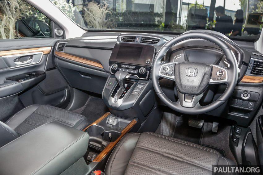 五代 Honda CR-V 本地正式发布,分成4个等级、自然进气与涡轮引擎,统一五人座,售价介于RM142K至RM168K。 Image #34848