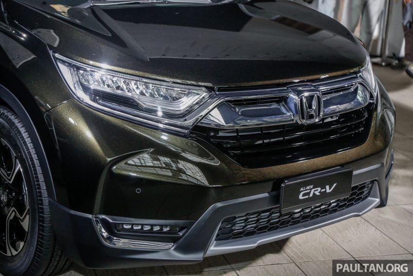 五代 Honda CR-V 本地正式发布,分成4个等级、自然进气与涡轮引擎,统一五人座,售价介于RM142K至RM168K。 Image #34822