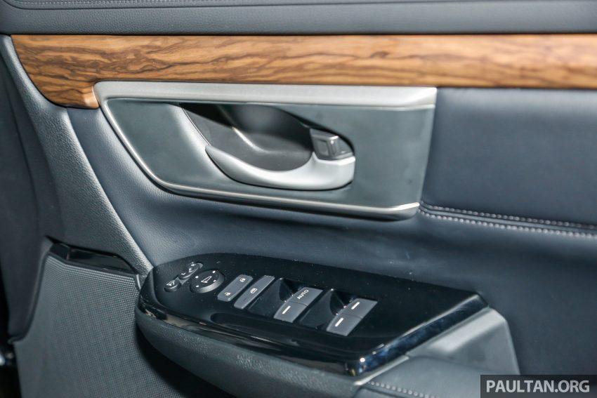 五代 Honda CR-V 本地正式发布,分成4个等级、自然进气与涡轮引擎,统一五人座,售价介于RM142K至RM168K。 Image #34853