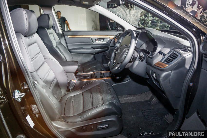 五代 Honda CR-V 本地正式发布,分成4个等级、自然进气与涡轮引擎,统一五人座,售价介于RM142K至RM168K。 Image #34854