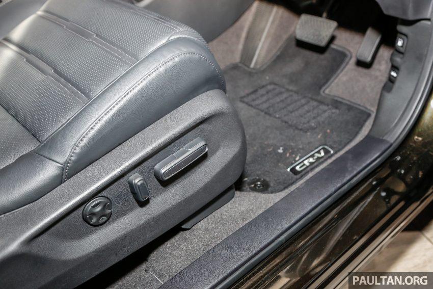 五代 Honda CR-V 本地正式发布,分成4个等级、自然进气与涡轮引擎,统一五人座,售价介于RM142K至RM168K。 Image #34856