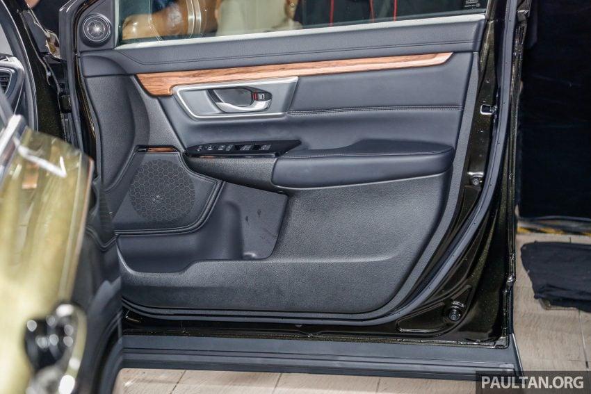 五代 Honda CR-V 本地正式发布,分成4个等级、自然进气与涡轮引擎,统一五人座,售价介于RM142K至RM168K。 Image #34857