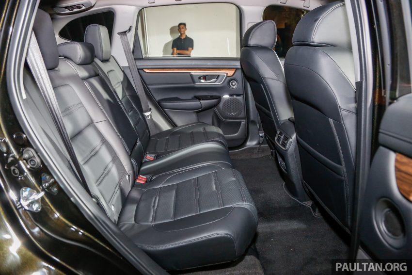五代 Honda CR-V 本地正式发布,分成4个等级、自然进气与涡轮引擎,统一五人座,售价介于RM142K至RM168K。 Image #34858