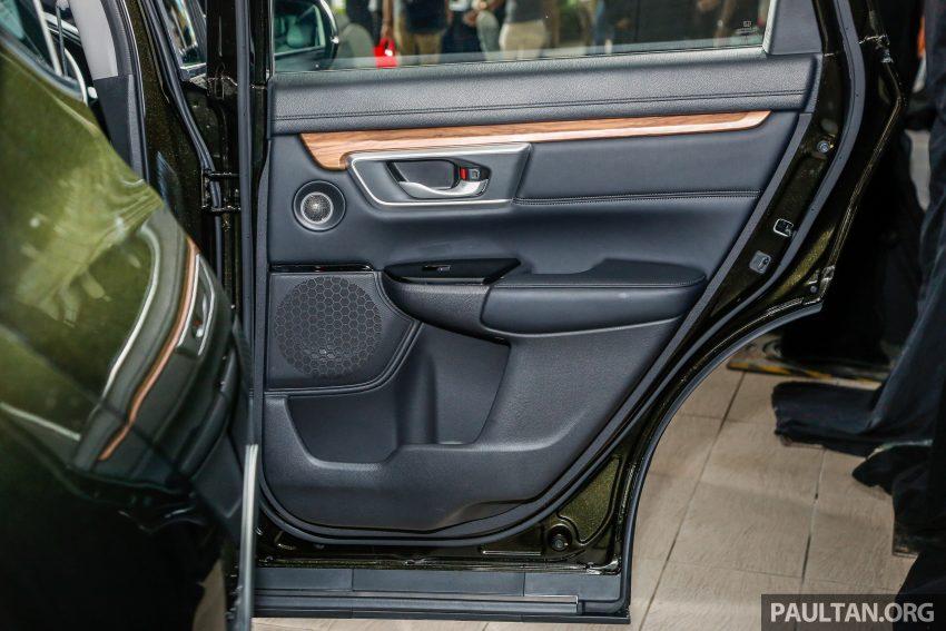 五代 Honda CR-V 本地正式发布,分成4个等级、自然进气与涡轮引擎,统一五人座,售价介于RM142K至RM168K。 Image #34860