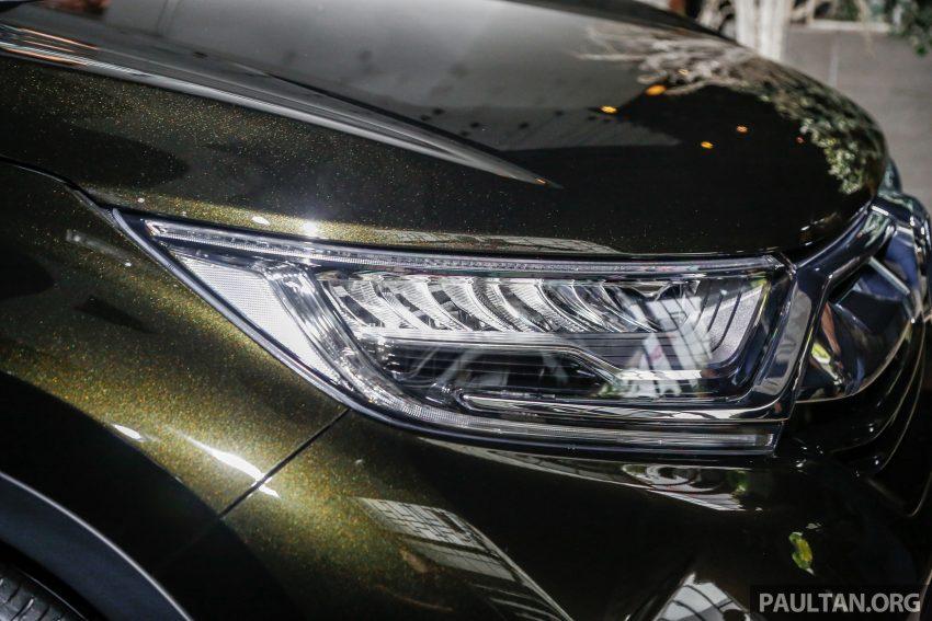 五代 Honda CR-V 本地正式发布,分成4个等级、自然进气与涡轮引擎,统一五人座,售价介于RM142K至RM168K。 Image #34824