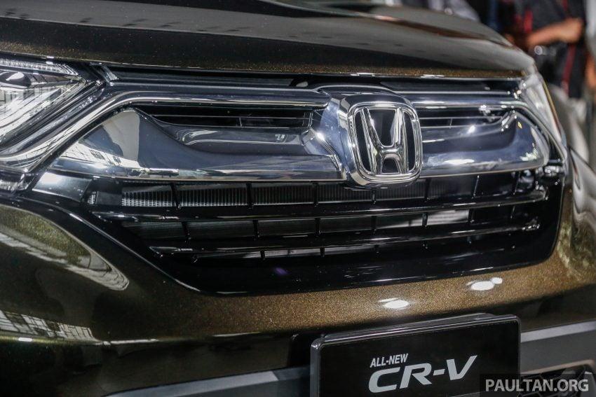 五代 Honda CR-V 本地正式发布,分成4个等级、自然进气与涡轮引擎,统一五人座,售价介于RM142K至RM168K。 Image #34826