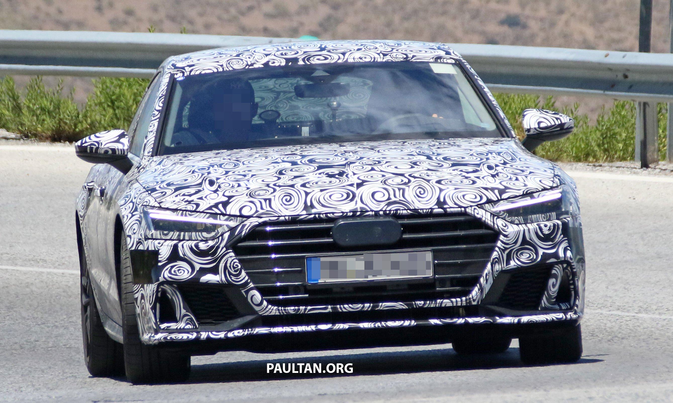 谍照:全新 Audi S7 伪装路测照曝光,预计2018年面市。 Audi S7 1 Paul Tan 汽车资讯网