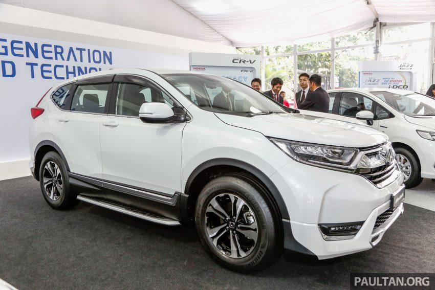 五代 Honda CR-V 本地正式发布,分成4个等级、自然进气与涡轮引擎,统一五人座,售价介于RM142K至RM168K。 Image #35019