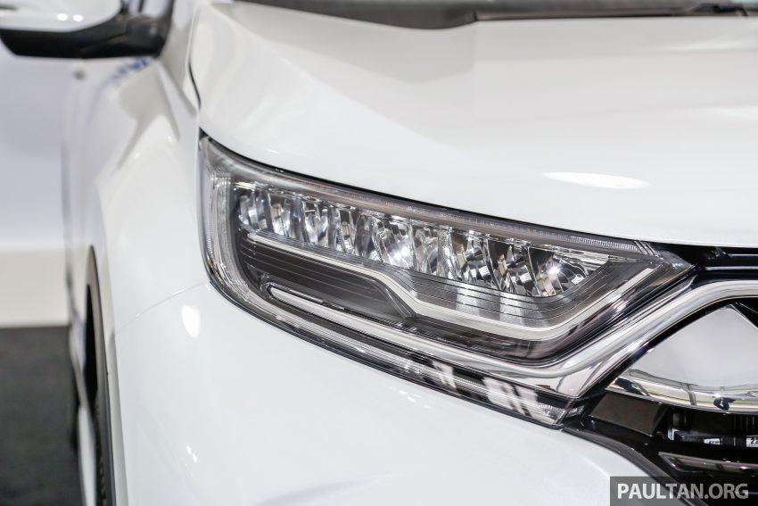 五代 Honda CR-V 本地正式发布,分成4个等级、自然进气与涡轮引擎,统一五人座,售价介于RM142K至RM168K。 Image #35028