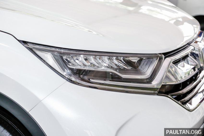 五代 Honda CR-V 本地正式发布,分成4个等级、自然进气与涡轮引擎,统一五人座,售价介于RM142K至RM168K。 Image #35029