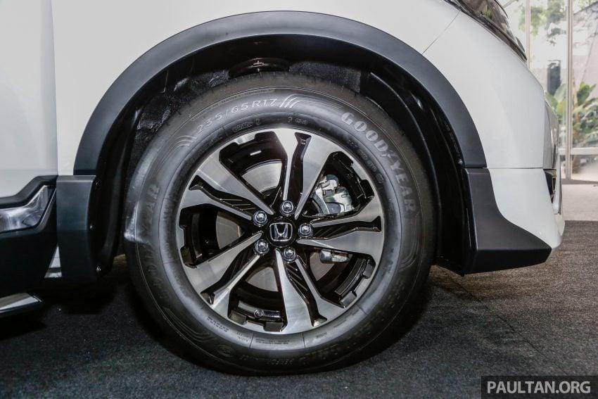 五代 Honda CR-V 本地正式发布,分成4个等级、自然进气与涡轮引擎,统一五人座,售价介于RM142K至RM168K。 Image #35036