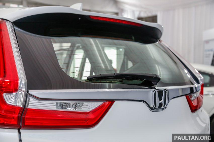 五代 Honda CR-V 本地正式发布,分成4个等级、自然进气与涡轮引擎,统一五人座,售价介于RM142K至RM168K。 Image #35043