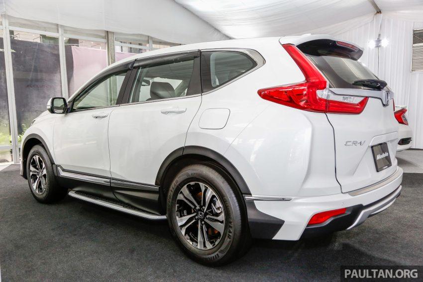 五代 Honda CR-V 本地正式发布,分成4个等级、自然进气与涡轮引擎,统一五人座,售价介于RM142K至RM168K。 Image #35022