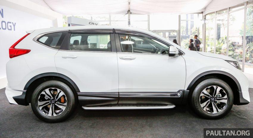 五代 Honda CR-V 本地正式发布,分成4个等级、自然进气与涡轮引擎,统一五人座,售价介于RM142K至RM168K。 Image #35023