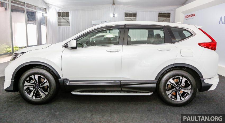 五代 Honda CR-V 本地正式发布,分成4个等级、自然进气与涡轮引擎,统一五人座,售价介于RM142K至RM168K。 Image #35024