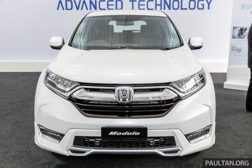 五代 Honda CR-V 本地正式发布,分成4个等级、自然进气与涡轮引擎,统一五人座,售价介于RM142K至RM168K。 Image #35025