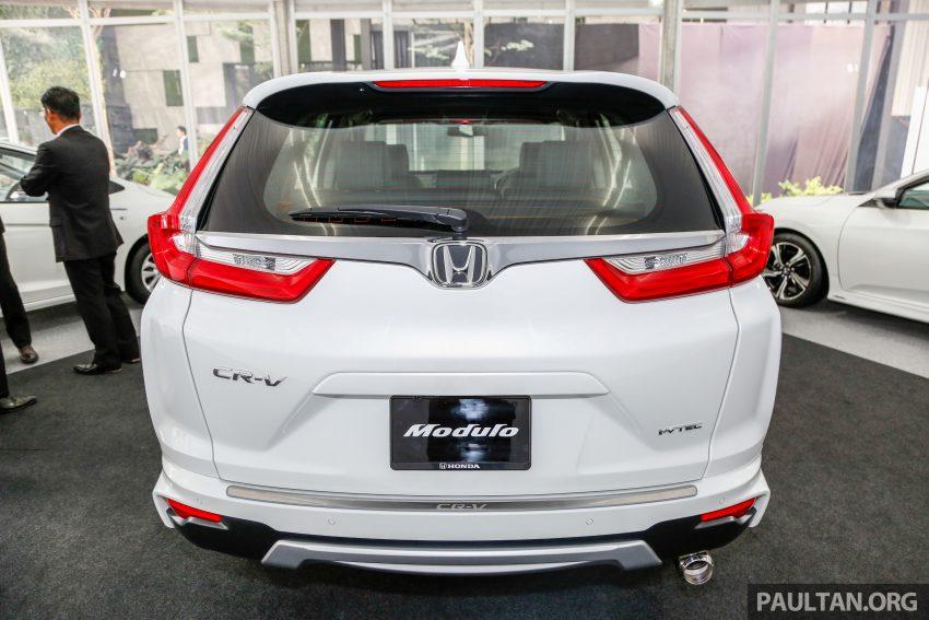 五代 Honda CR-V 本地正式发布,分成4个等级、自然进气与涡轮引擎,统一五人座,售价介于RM142K至RM168K。 Image #35026