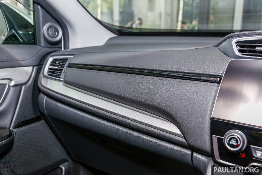 五代 Honda CR-V 本地正式发布,分成4个等级、自然进气与涡轮引擎,统一五人座,售价介于RM142K至RM168K。 Image #35062