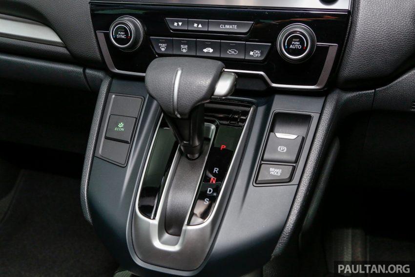 五代 Honda CR-V 本地正式发布,分成4个等级、自然进气与涡轮引擎,统一五人座,售价介于RM142K至RM168K。 Image #35065