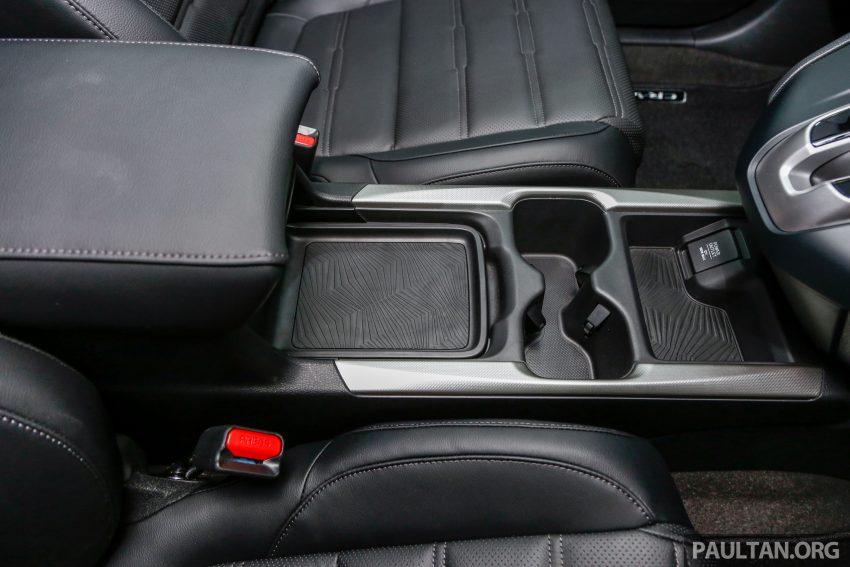 五代 Honda CR-V 本地正式发布,分成4个等级、自然进气与涡轮引擎,统一五人座,售价介于RM142K至RM168K。 Image #35066