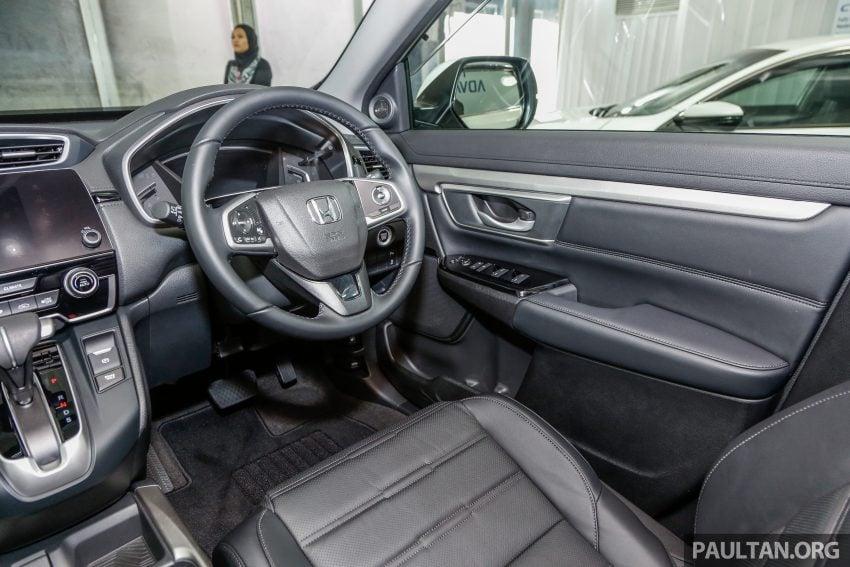 五代 Honda CR-V 本地正式发布,分成4个等级、自然进气与涡轮引擎,统一五人座,售价介于RM142K至RM168K。 Image #35076