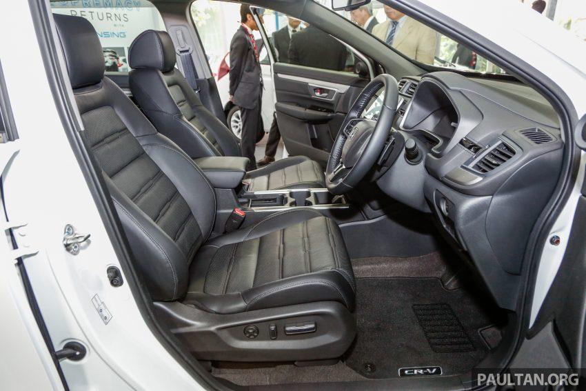 五代 Honda CR-V 本地正式发布,分成4个等级、自然进气与涡轮引擎,统一五人座,售价介于RM142K至RM168K。 Image #35077