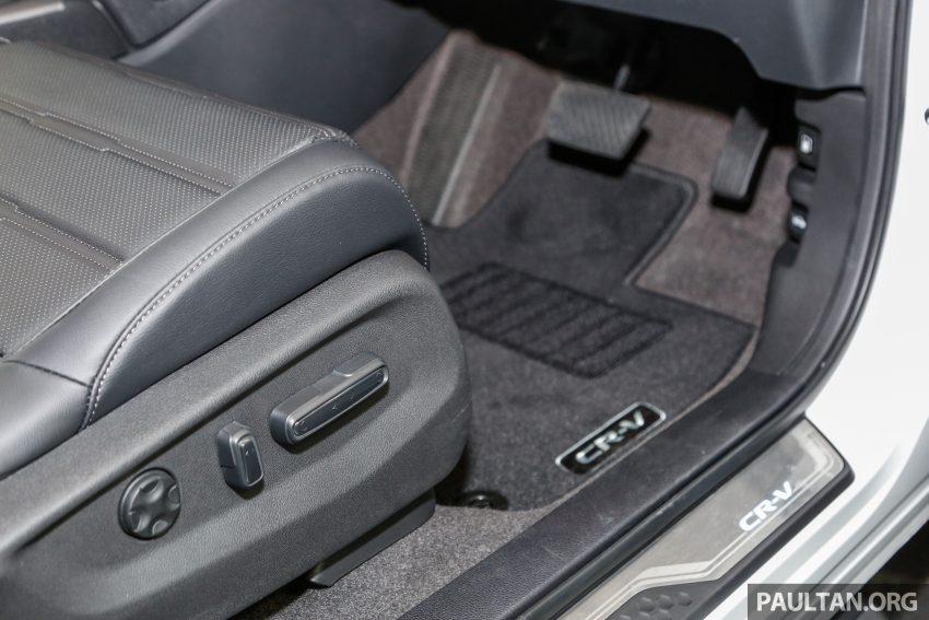 五代 Honda CR-V 本地正式发布,分成4个等级、自然进气与涡轮引擎,统一五人座,售价介于RM142K至RM168K。 Image #35078