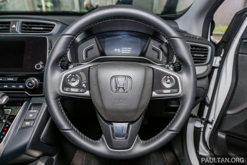五代 Honda CR-V 本地正式发布,分成4个等级、自然进气与涡轮引擎,统一五人座,售价介于RM142K至RM168K。 Image #35055