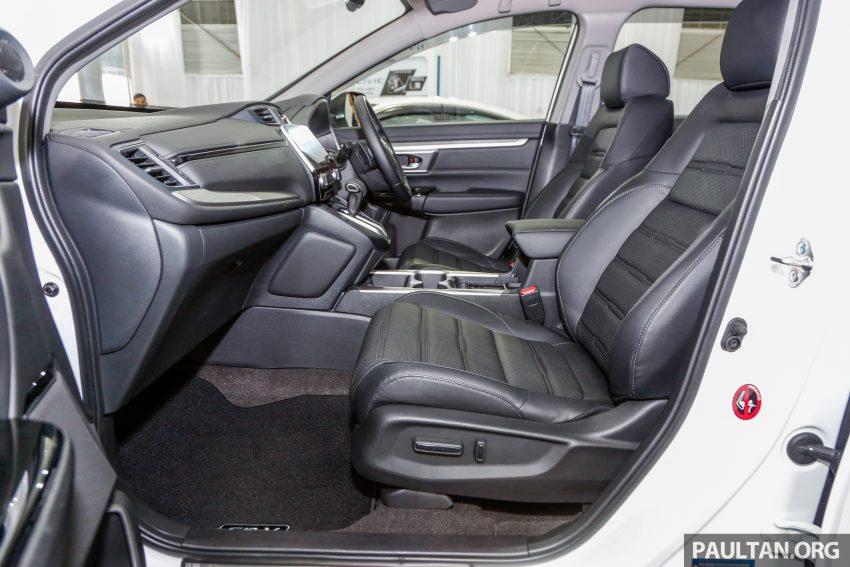 五代 Honda CR-V 本地正式发布,分成4个等级、自然进气与涡轮引擎,统一五人座,售价介于RM142K至RM168K。 Image #35082