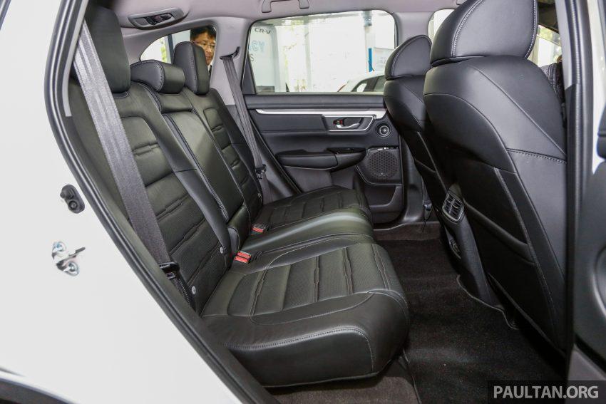 五代 Honda CR-V 本地正式发布,分成4个等级、自然进气与涡轮引擎,统一五人座,售价介于RM142K至RM168K。 Image #35085