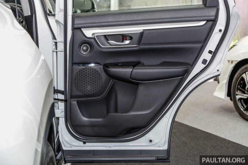五代 Honda CR-V 本地正式发布,分成4个等级、自然进气与涡轮引擎,统一五人座,售价介于RM142K至RM168K。 Image #35090