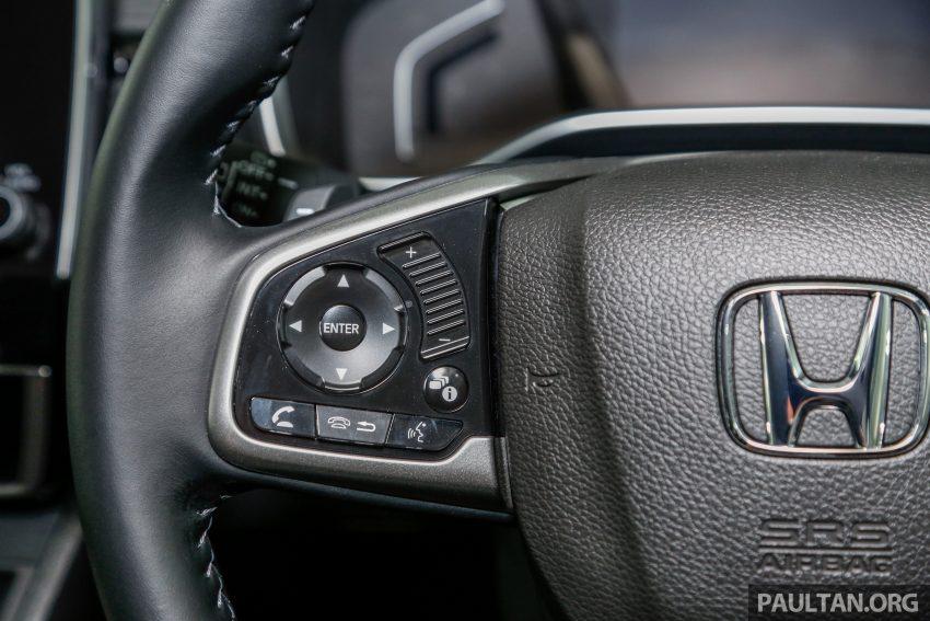五代 Honda CR-V 本地正式发布,分成4个等级、自然进气与涡轮引擎,统一五人座,售价介于RM142K至RM168K。 Image #35057