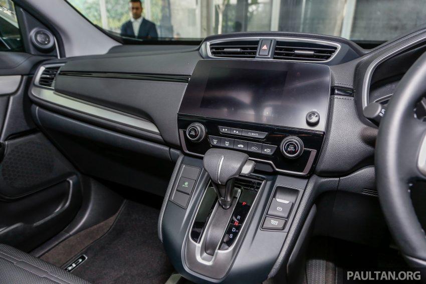 五代 Honda CR-V 本地正式发布,分成4个等级、自然进气与涡轮引擎,统一五人座,售价介于RM142K至RM168K。 Image #35061
