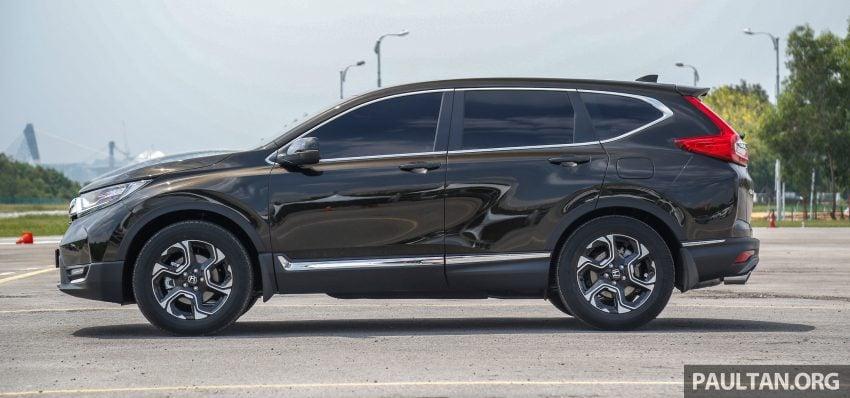 五代 Honda CR-V 本地正式发布,分成4个等级、自然进气与涡轮引擎,统一五人座,售价介于RM142K至RM168K。 Image #34933