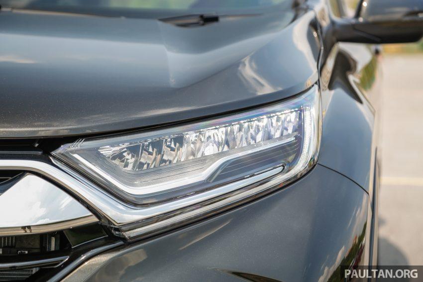 五代 Honda CR-V 本地正式发布,分成4个等级、自然进气与涡轮引擎,统一五人座,售价介于RM142K至RM168K。 Image #34937