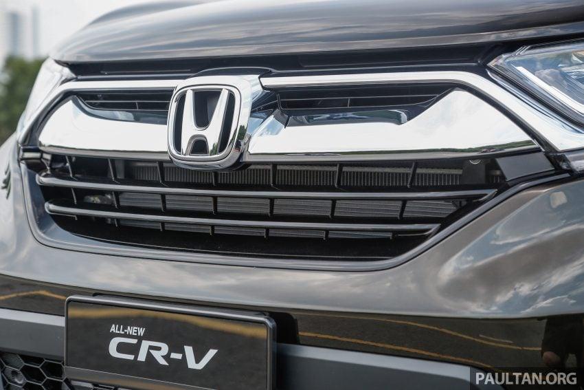 五代 Honda CR-V 本地正式发布,分成4个等级、自然进气与涡轮引擎,统一五人座,售价介于RM142K至RM168K。 Image #34940