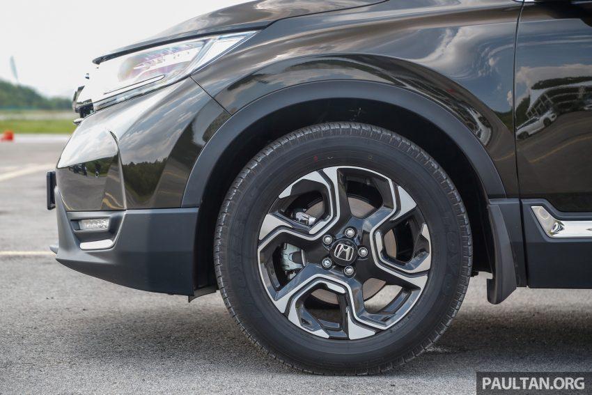五代 Honda CR-V 本地正式发布,分成4个等级、自然进气与涡轮引擎,统一五人座,售价介于RM142K至RM168K。 Image #34943
