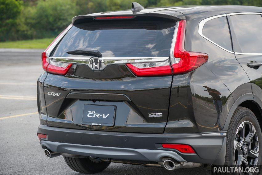 五代 Honda CR-V 本地正式发布,分成4个等级、自然进气与涡轮引擎,统一五人座,售价介于RM142K至RM168K。 Image #34946