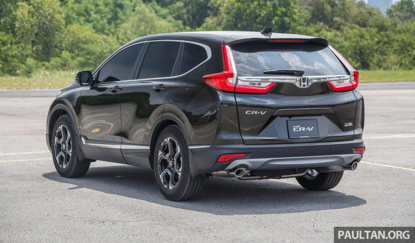 五代 Honda CR-V 本地正式发布,分成4个等级、自然进气与涡轮引擎,统一五人座,售价介于RM142K至RM168K。 Image #34925