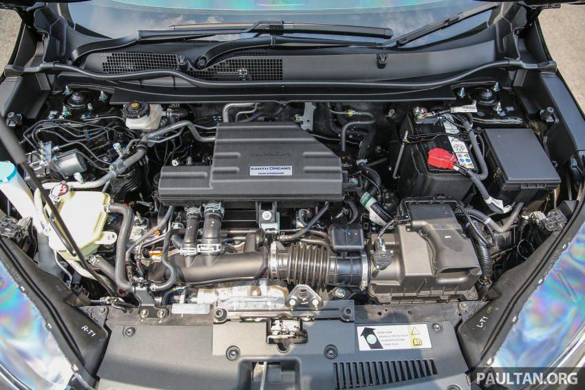 五代 Honda CR-V 本地正式发布,分成4个等级、自然进气与涡轮引擎,统一五人座,售价介于RM142K至RM168K。 Image #34954