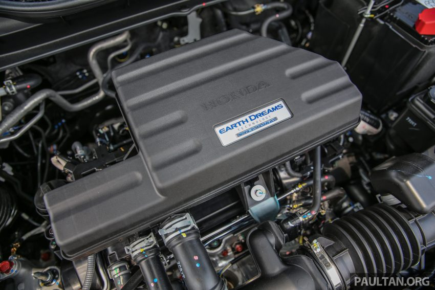 五代 Honda CR-V 本地正式发布,分成4个等级、自然进气与涡轮引擎,统一五人座,售价介于RM142K至RM168K。 Image #34955